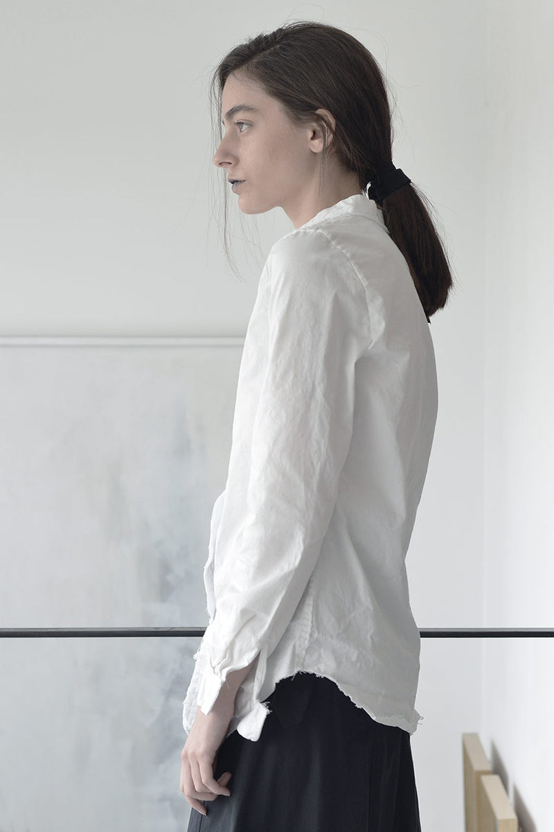 collared woman shirt | long sleeve white linen shirt | white button down shirt | business shirts | womens formal blouses | formal blouses | linen shirts online | linen clothing | linen clothing |  Israeli clothing brands | Israeli designers | Tel Aviv shopping -6