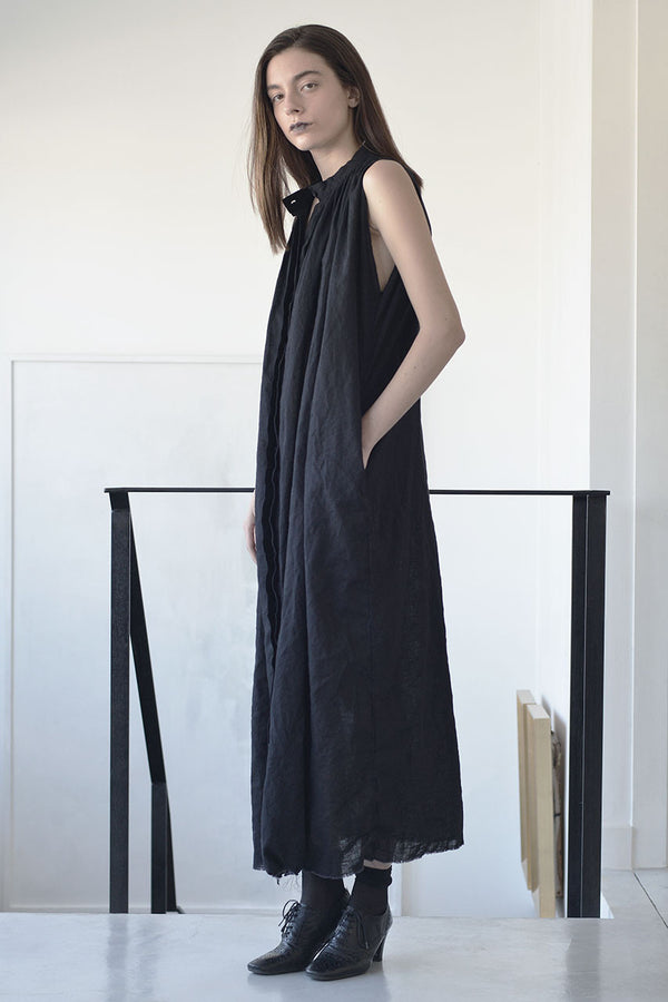 Oversized dress | maxi linen dress | maxi black dress | cocktail dresses | evening dresses | night dresses | long black dress | oversized dress trend | Maxi summer 2017 dresses | Designer dresses online | Israeli clothing brands | Israeli fashion designers | Handmade in Tel Aviv | Maxi dress | Long Dress |  Black Dress | Beach Dresses | Linen Dress | Dresses Online Shopping | Shopping Mall Tel Aviv | Yafo Tel Aviv Fashion | Israel Online Shopping | flea market jaffa fashion studio - black - 2