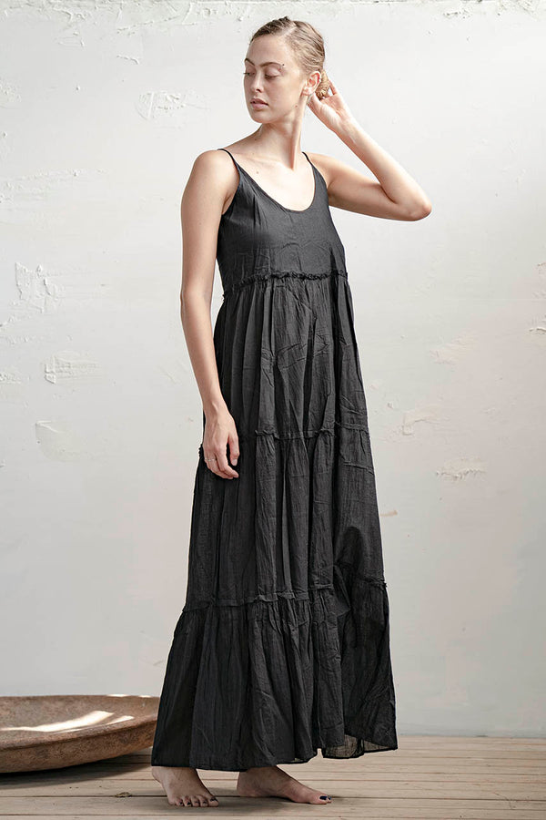 Batsheva Dress - Natural / Black