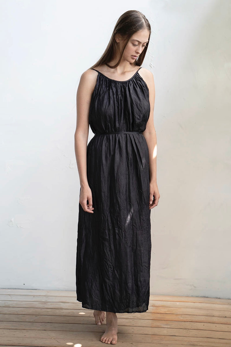 Avishag Dress - Natural / Black