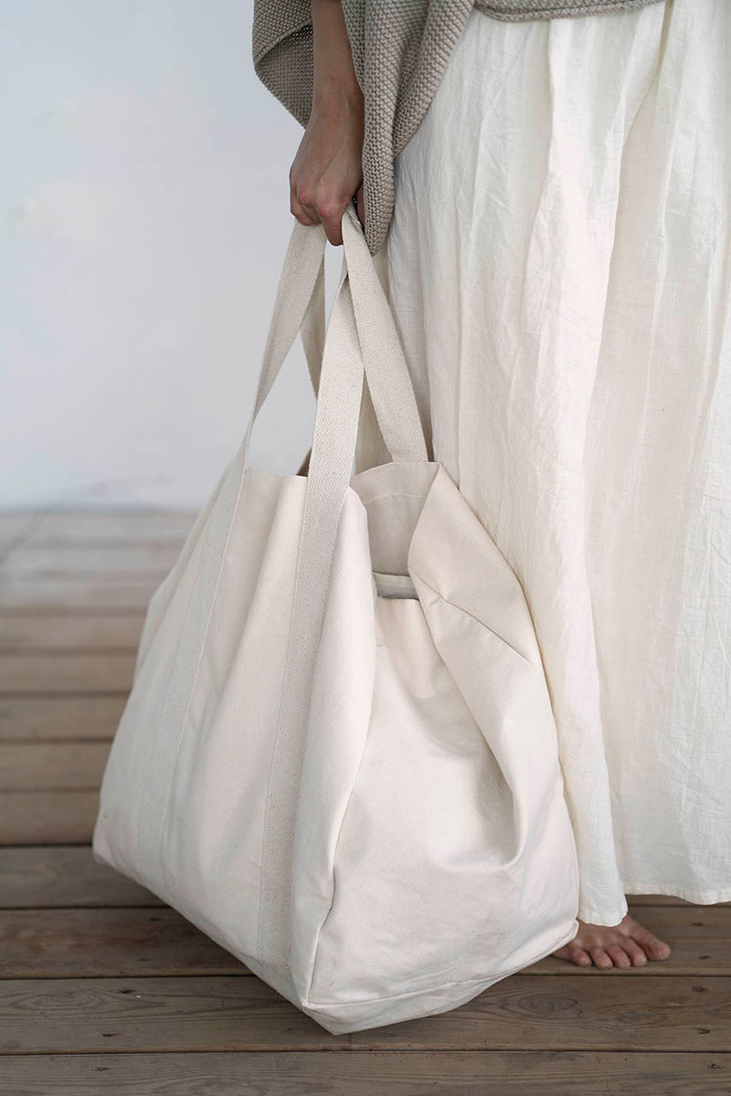 Nazareth Bag - Natural / White