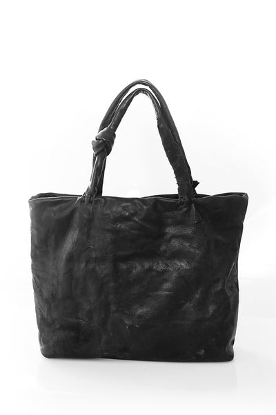 leather hand bag