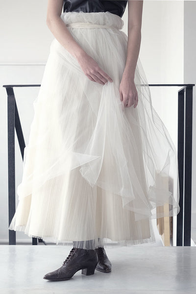 maxi tulle cream skirt online | evening skirts | party skirts | Long skirts trend | Maxi summer 2017 skirts | Summer skirts sale | Skirts Online Shopping | Free Worldwide Shipping | Israeli clothing brands | Israeli Fashion Designers | Shopping Mall Tel Aviv | Yafo Tel Aviv Fashion | Israel Online Shopping | Flea Market Jaffa Fashion Studio | Shopping Mall Tel Aviv | TLV Fashion Mall | Yafo Tel Aviv Fashion - cream - 4