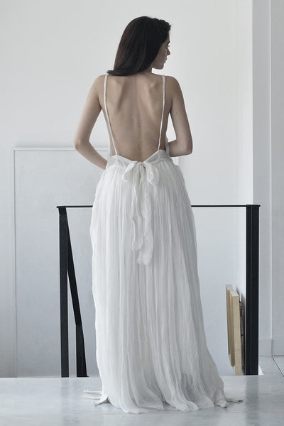 Ballerine Silk Dress | Maxi Silk Dress | Evening White Dress | Cocktail Long White Dresses | Evening Dresses 2017 | Night Dresses | Evening Open Back Dress Trend | Maxi Summer Evening Dresse | Designer Dresses Online | Israeli Dresses Brands | Israeli Fashion Dresses Designer | Handmade Dresses Tel Aviv | Long White Evening Gowns with Open Backs | Silk Dress |  White Silk Dress | Dresses Online Shopping | Shopping Mall Tel Aviv | Yafo Tel Aviv Fashion | Israel Online Shopping | Flea Market Jaffa Fashion Stu