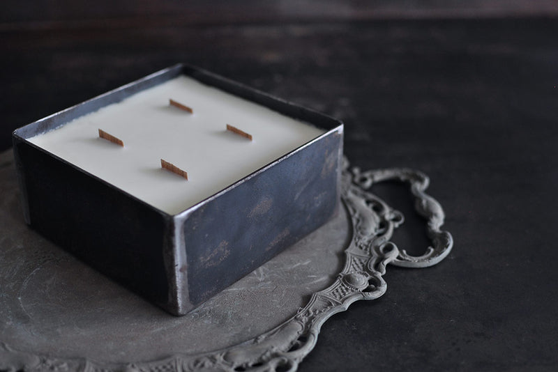 iron container scented candle