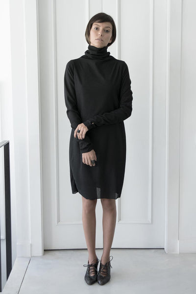 turtleneck long sleeve tunic