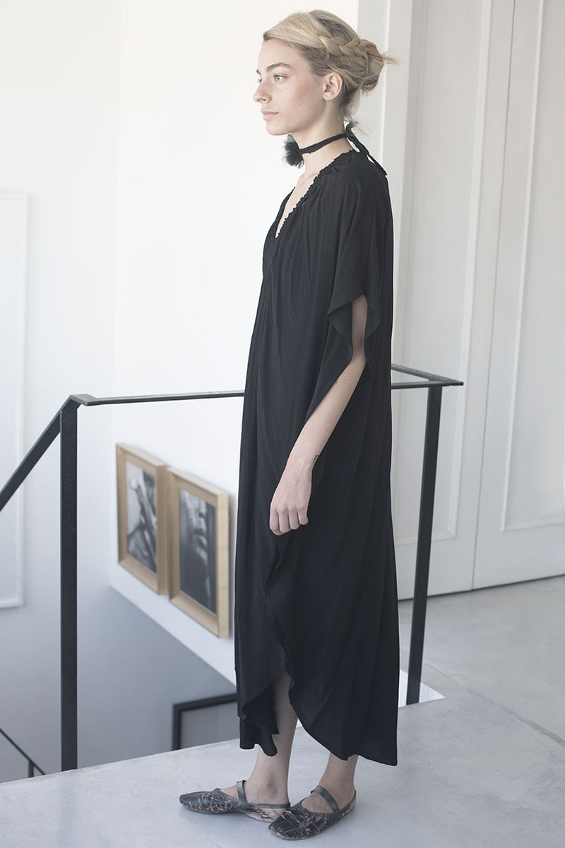 Oversized dress | maxi galabiya dress | long black dress | cocktail dresses | evening dresses | night dresses | long black dress | oversized dress trend | Maxi summer 2017 dresses | Designer dresses online | Israeli clothing brands | Israeli fashion designers | Handmade in Tel Aviv | Maxi dress | Long Dress |  Black Dress | Beach Dresses | Linen Dress | Dresses Online Shopping | Shopping Mall Tel Aviv | Yafo Tel Aviv Fashion | Israel Online Shopping | flea market jaffa fashion studio  - black galabiya dress