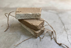 natural soap on a rope