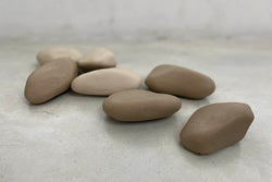 rock natural soap - stone / brown
