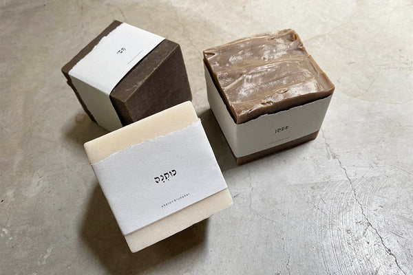 square natural soap - COTTON / SILK / LINEN
