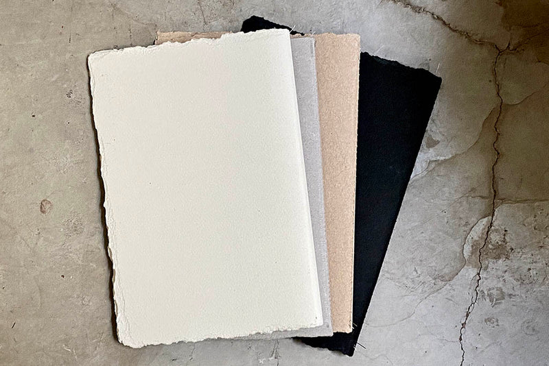 GENESIS NOTEBOOK - BLACK / WHITE / GERY / KRAFT