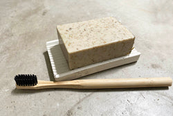 Bamboo Toothbrush with Charcoal Bristles