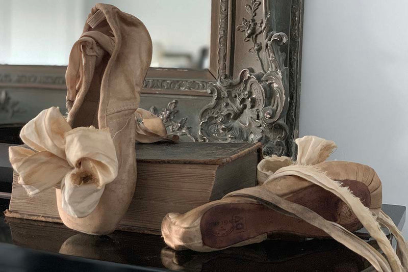 decorative object - prima ballerina shoes