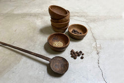 small appetaizers wood bowl set
