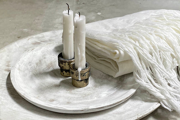 SHABBAT CANDLE HOLDER