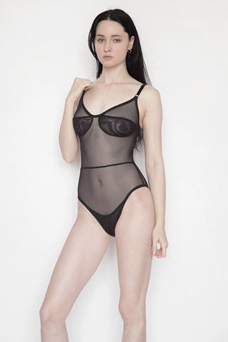 WILLA BODYSUIT - Black