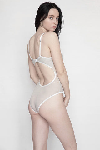 WILLA BODYSUIT - Grey