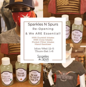 Re-Opening May 5 as an Essential Business