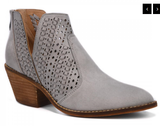 Katalla Grey Ankle Boot