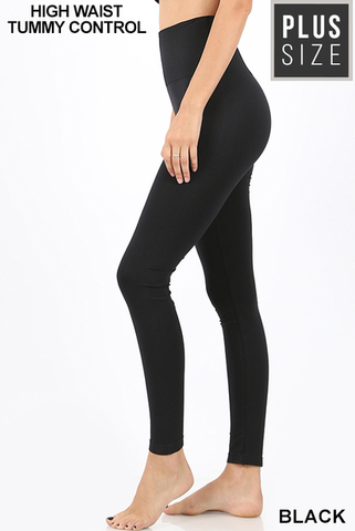 Plus High Waist Legging