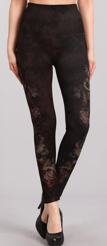 Shadowy Garden Plus Leggings