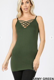 Lattice Front Cami
