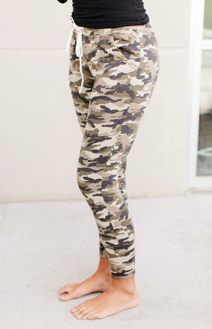 Camo Sweatpants S-XL