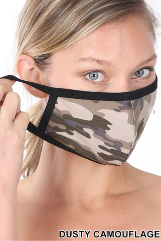 Zenana Camo Mask