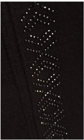 Leggings w/Black Jewels
