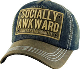 Socially Awkward Ball Cap
