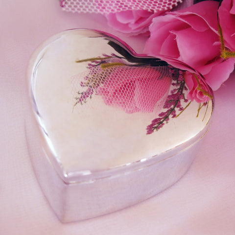 Mini Heart Jewelry Box 26032