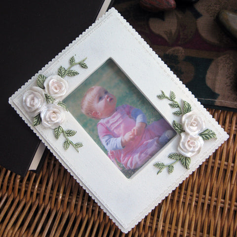 Rose Flower Picture Frame 5883