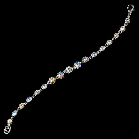Bridal Wedding Bracelet 5790 Silver AB