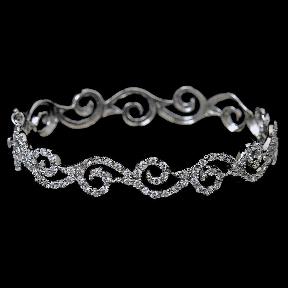 Bridal Wedding Bracelet 8350 Silver