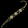 Bridal Wedding Bracelet 971 Gold AB