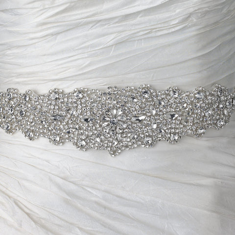 Rhinestone Crystal Bridal Wedding Belt 315