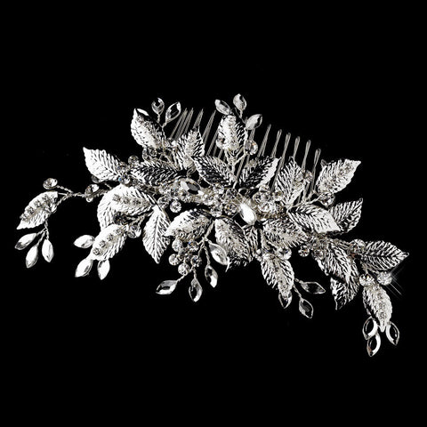 Vintage Crystal Vine Bridal Wedding Hair Comb 560