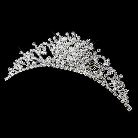 Crystal Bridal Wedding Hair Comb 7055