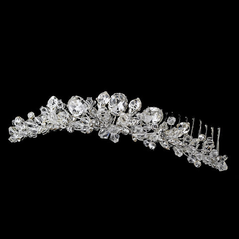 * Swarovski Crystal Bridal Wedding Hair Comb 7128