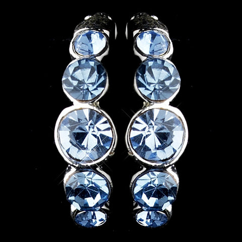 Earring 20339 Light Blue