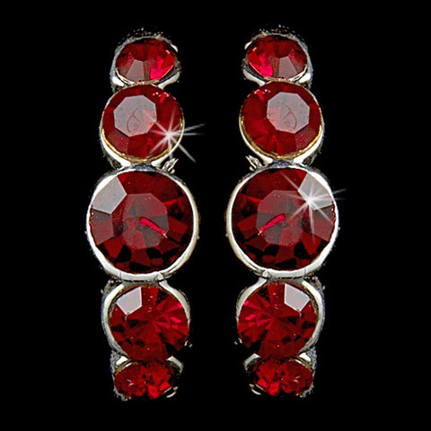 Earring 20339 Red