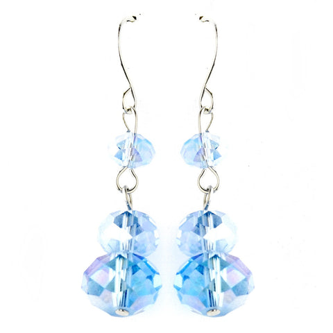 * Blue Dangle Earring Set 7619
