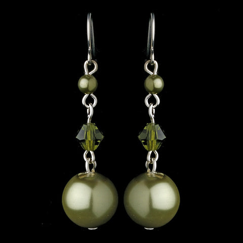 Earring 8355 Green