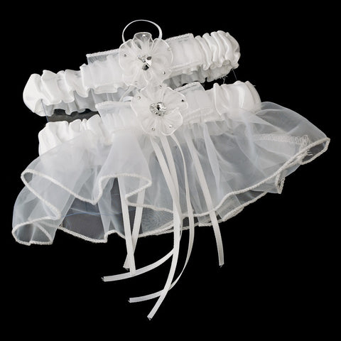 Bridal Wedding Garter 738 Ivory