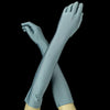 Bluestone Elbow Formal Bridal Wedding Matte Satin Gloves