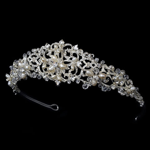 Freshwater Pearl Bridal Wedding Tiara HP 1810