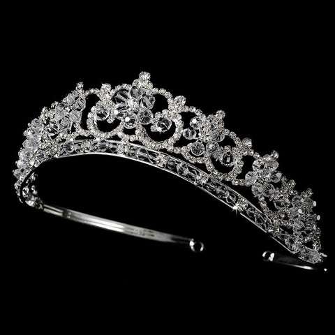 * Floral Bridal Wedding Tiara HP 434