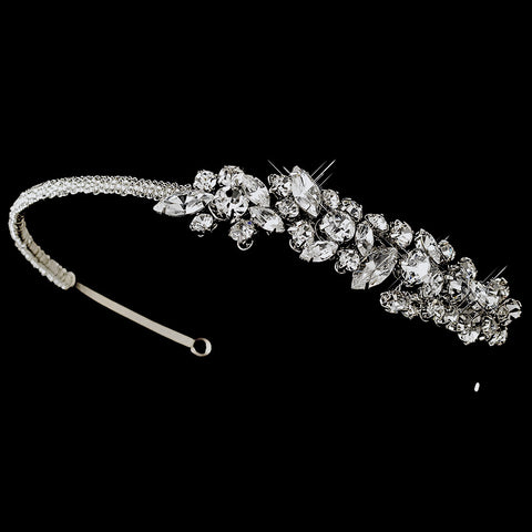 Vintage Bridal Wedding Headpiece with Side Ornament HP 507