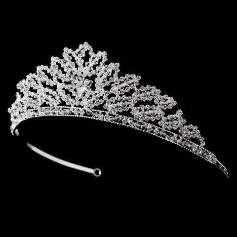 * Swarovski Crystal Bridal Wedding Tiara HP 6447