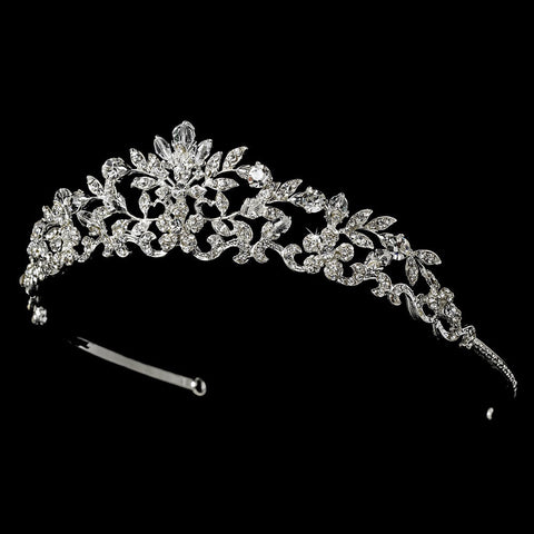 Swarovski Crystal Bridal Wedding Tiara HP 7061